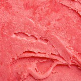 Glace Artisanale aromatisée à la Rose