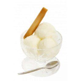 Sorbet Artisanal Citron Jaune avec écorces