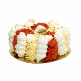 Grand Vacherin Vanille Fraise
