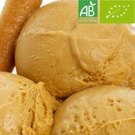 Glace Artisanale Caramel Beurre Salé BIO